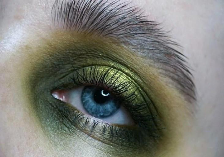 Yeşil Göz Makyajı 2019