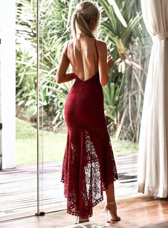 2019 kırmızı balo elbise modelleri