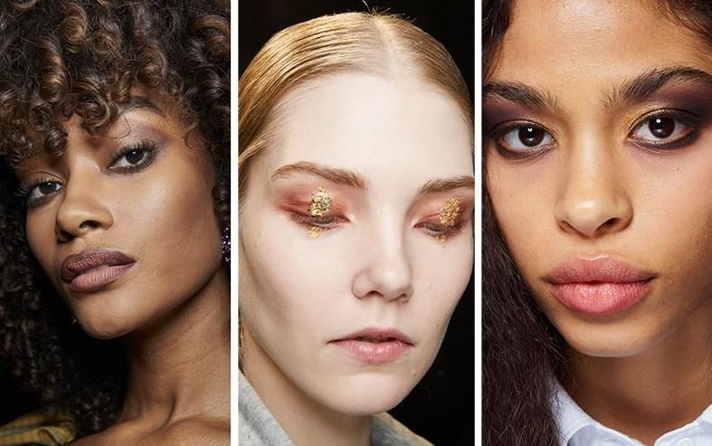 altın rengi göz makyajı 2020