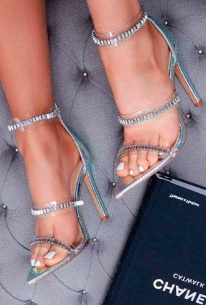 balo için topuklu ve taşlı sandalet modelleri 2019