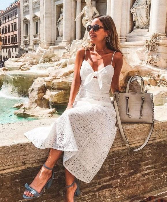 4eaba1f7db3ea 21 En iyi beyaz yazlık elbiseler 2019 - Trendler ve Moda