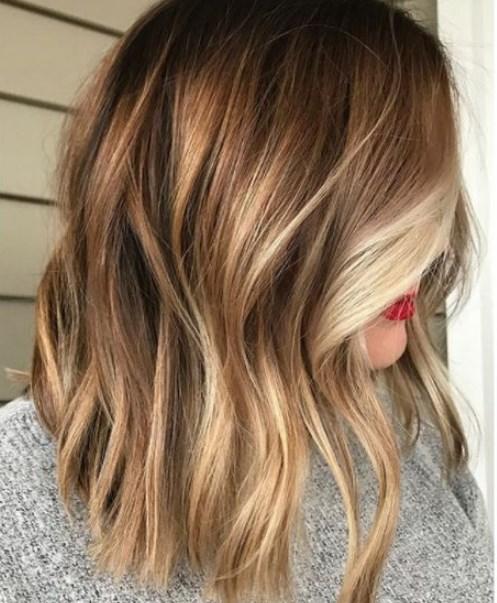 bronde saç renkleri 2019