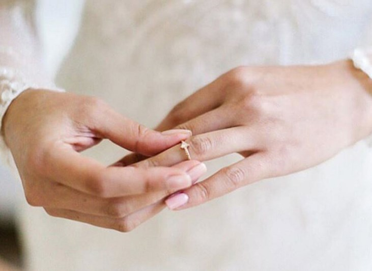 düğün için gelin manikür fikirleri 2019 2020