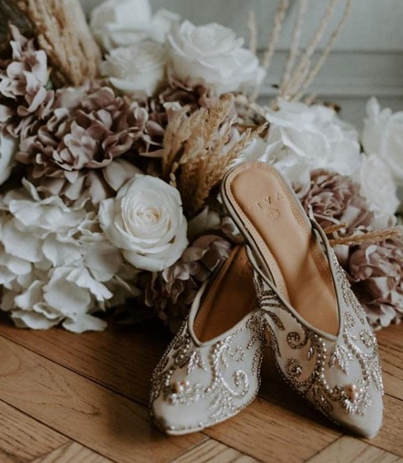 düğün için gelinlik ayakkabısı modelleri 2019