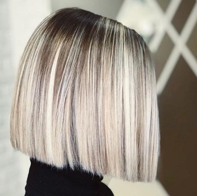 düz bob saç kesimi 2019