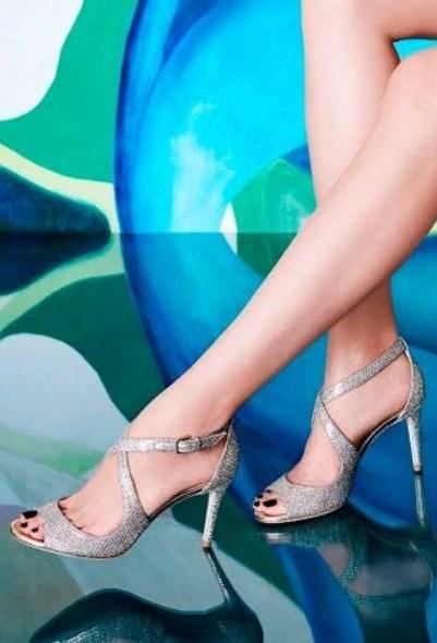 gümüş balo ayakkabı modelleri 2019 2020