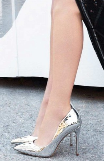 gümüş topuklu balo ayakkabıları 2019