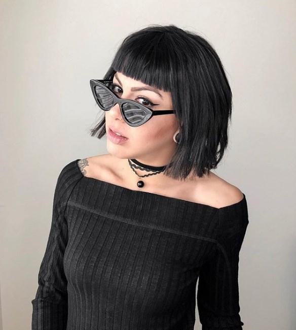 kahküllü bob saç modelleri 2019 20