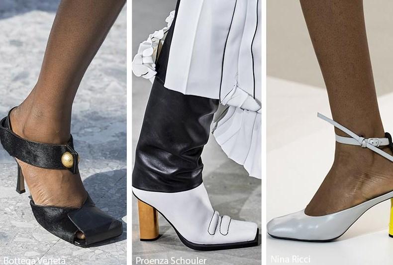 kare burun ayakkabı modelleri 2020