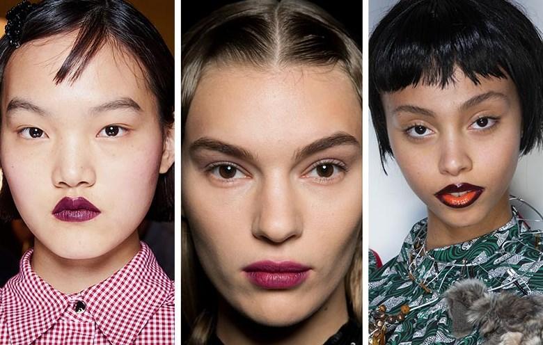 koyu dudaklar makyaj trendleri 2020