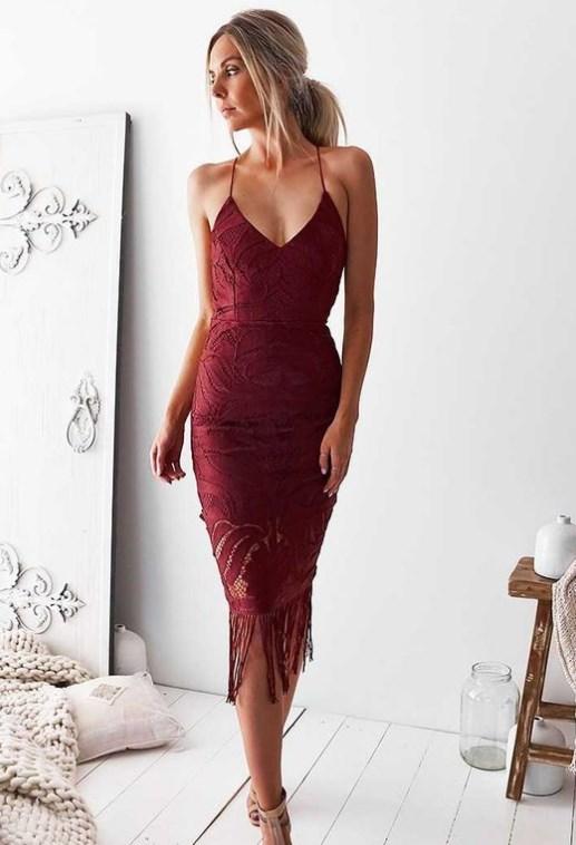 koyu kırmızı balo elbiseleri 2019