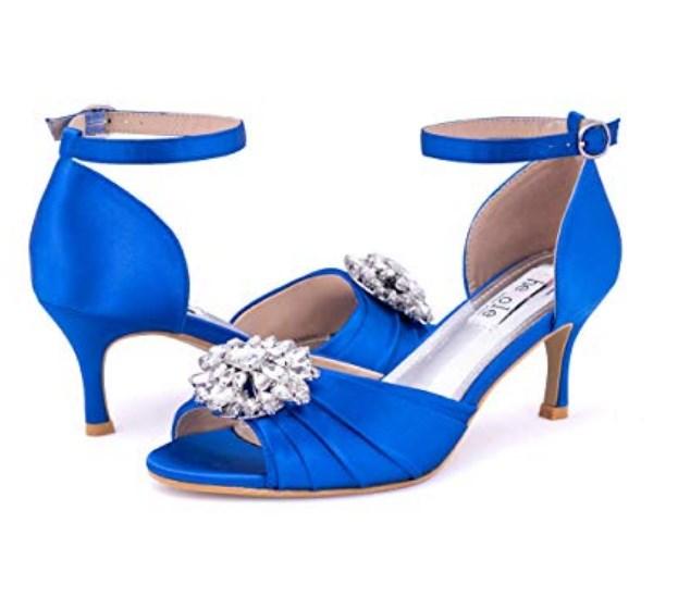 mavi gelin ayakkabı modeli 2019 2020