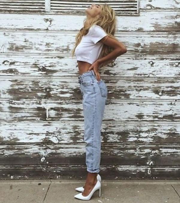 minyon tipli kadınlar için kot pantolon seçimleri