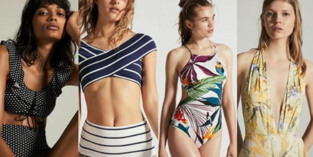 sahilden bara gitmek için mayo ve bikini seçimi