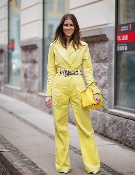 Sarı 2019 modasında trenddir doğru şekilde nasıl kombinlersiniz