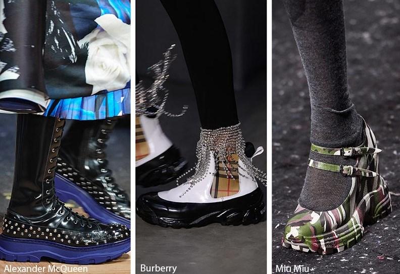 Sonbahar / Kış 2020 Bayan Ayakkabı Trendleri