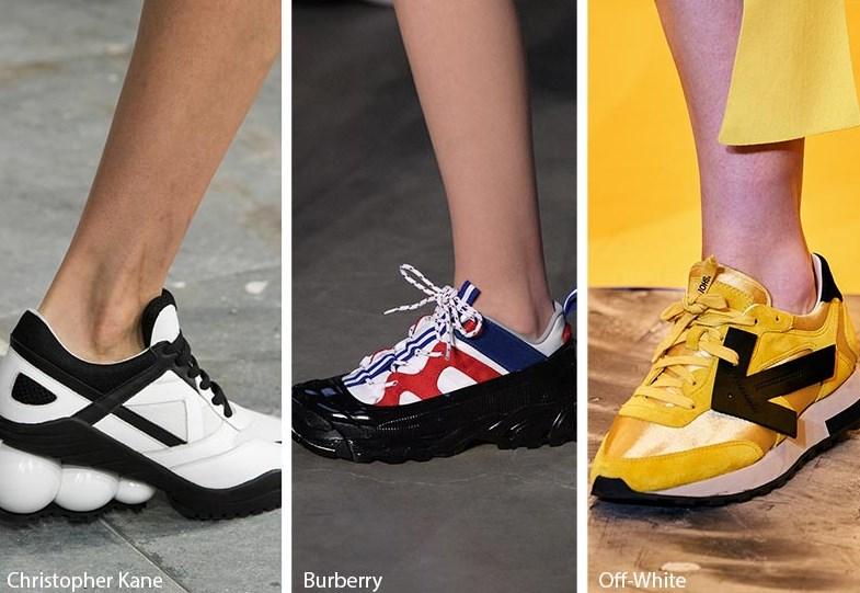 sonbahar kış bayan spor ayakkabı trendleri 2020