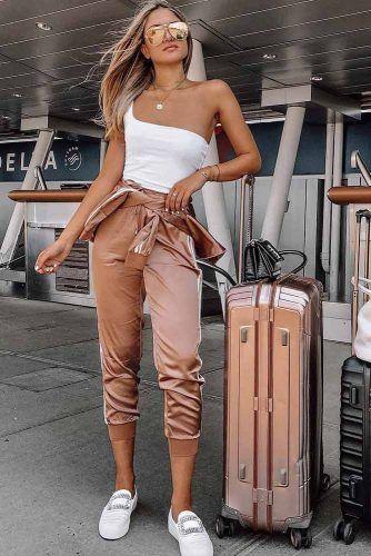 Uçak Seyahat kombin fikirleri 2019