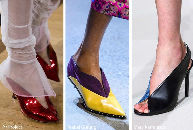 V şekilli ayakkabı modelleri 2020