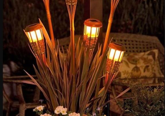 yaz bahçesi aydınlatma fikirleri 2019