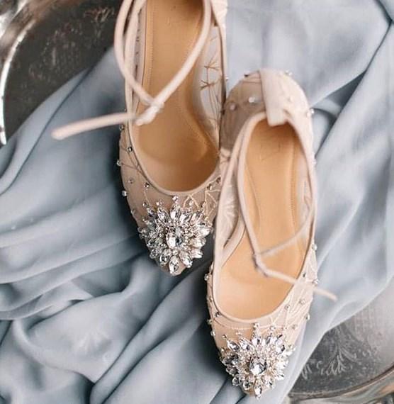 yaz sezonu 2019 gelin ayakkabısı modelleri