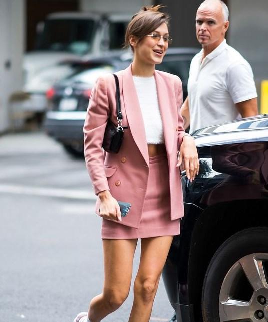 yazlık bayan takım elbise mini etek 2020
