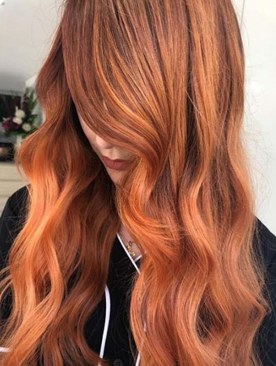 bakır saç renkleri 2019 20