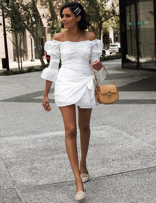 beyaz büstiyer elbise modelleri 2019