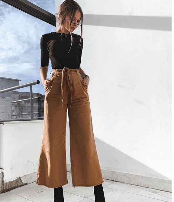 culottes pantolon nasıl giyilir 2020