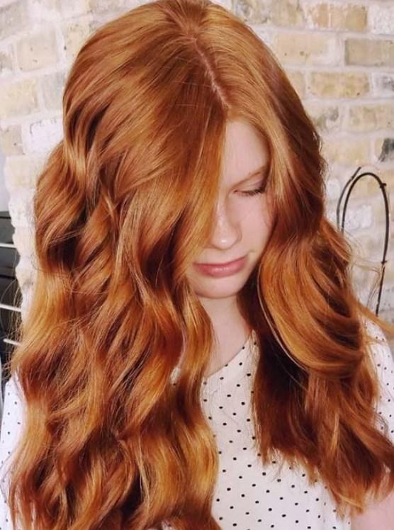 doğal bakır saç renkleri 2019