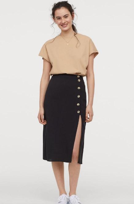 H & M ilkbahar yaz etek modelleri 2019