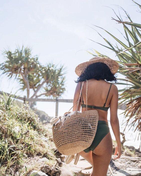 hasır plaj çantası modelleri 2019 20