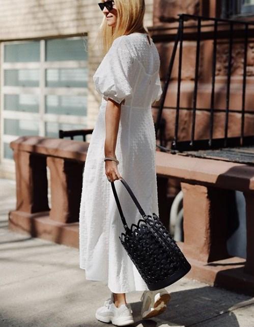 Kabarık kollu elbise yaz için en güzel trend 2019