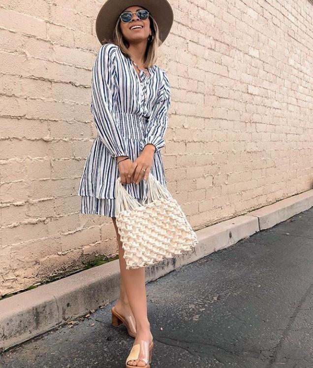 kısa boylu kadınları uzun gösteren elbise modelleri