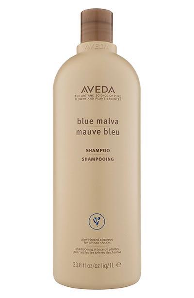 koyu saçlar için tonlama şampuanı Aveda Mavi Şampuan