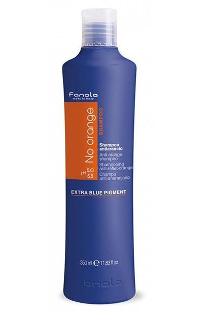 Koyu Saçlarda Turunculuğu Önleyen Fanola Mavi şampuan