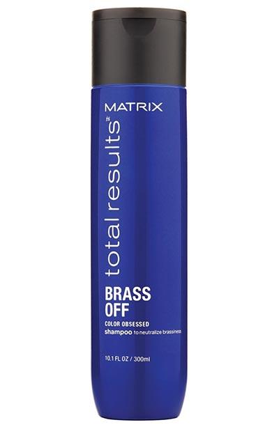 Koyu Saçlarda Turunculuğu Önleyen için En İyi Mavi Şampuanlar Matrix