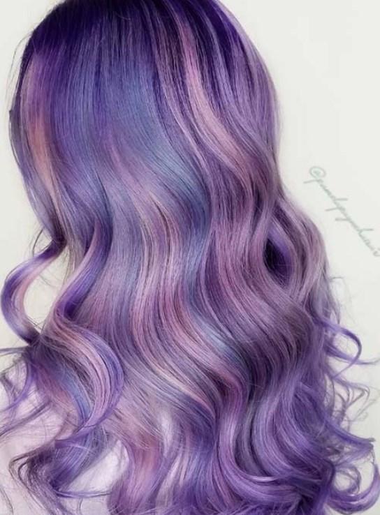 lavanta saç rengi