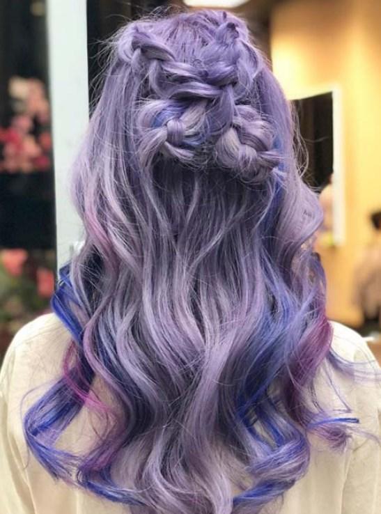 lavanta saç renkleri 2019 20