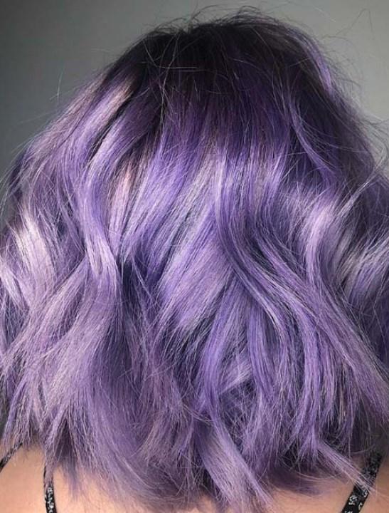 lavanta saç renkleri 2019 2020