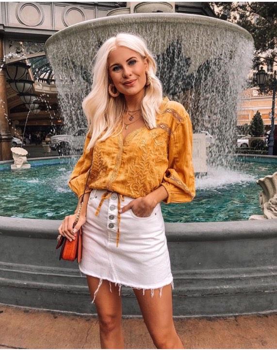 Mode Sommer Jeansrock Modelle 2020 (2)