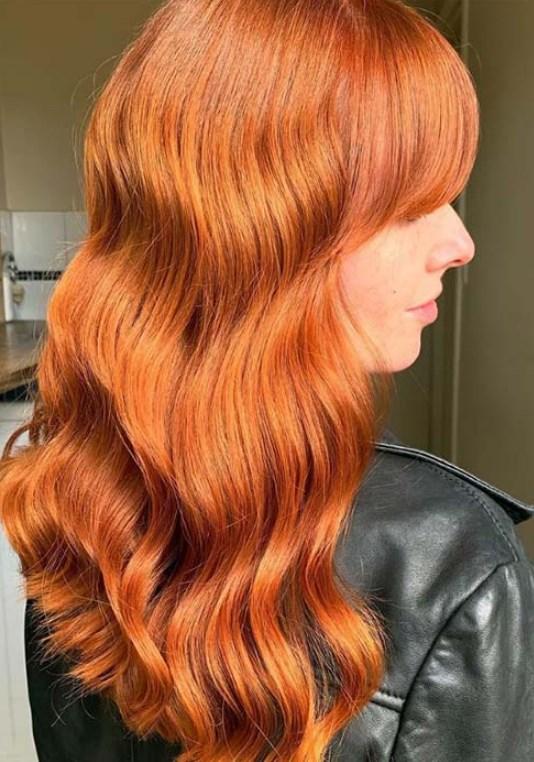 parlak bakır saç renkleri 2019