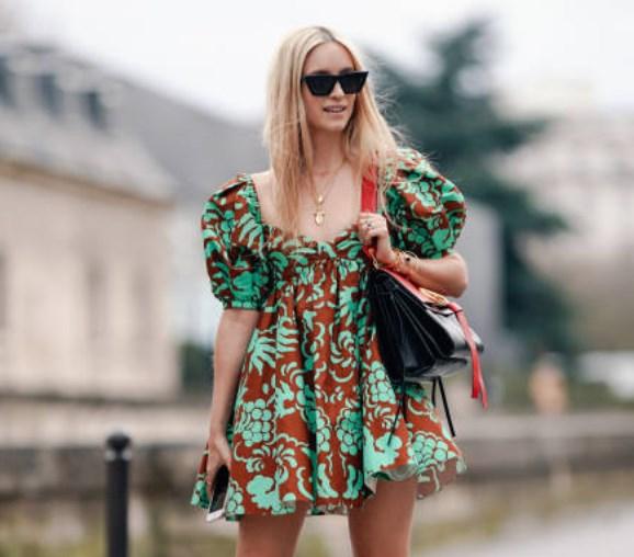 puf kol yazlık elbise 2019 20