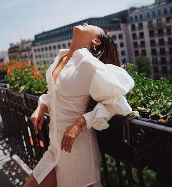 puf kollu yazlık elbise modelleri 2019