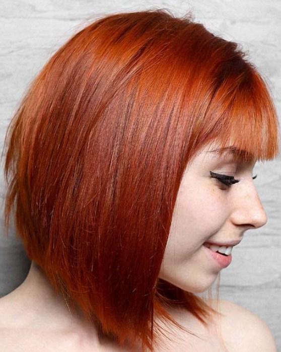 Vişne Bakır Saç Rengi 2019 2020