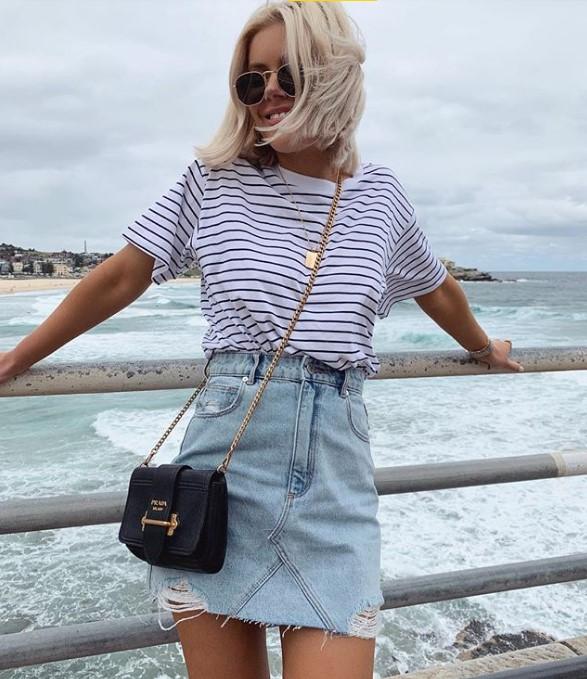 Sommer Jeans Röcke 2019 2020 Modelle