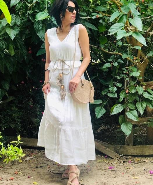 yazlık trend renkler ile elbiseler 2019 20
