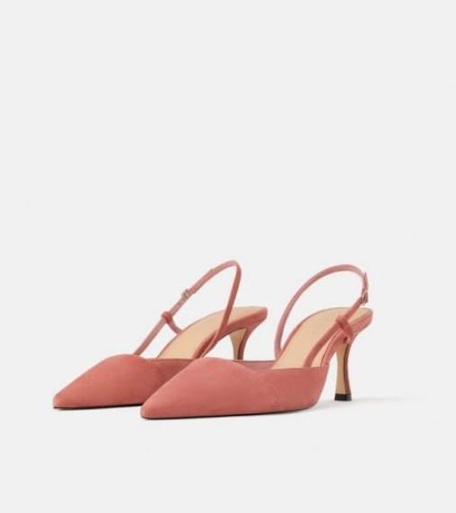 Zara açık topuklu ayakkabı modeli 2019 20