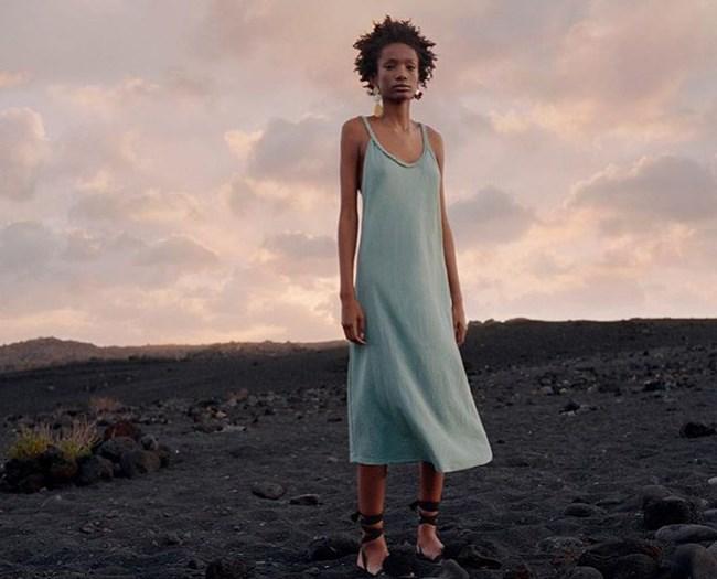 Zara yaz elbiseleri 2019 2020