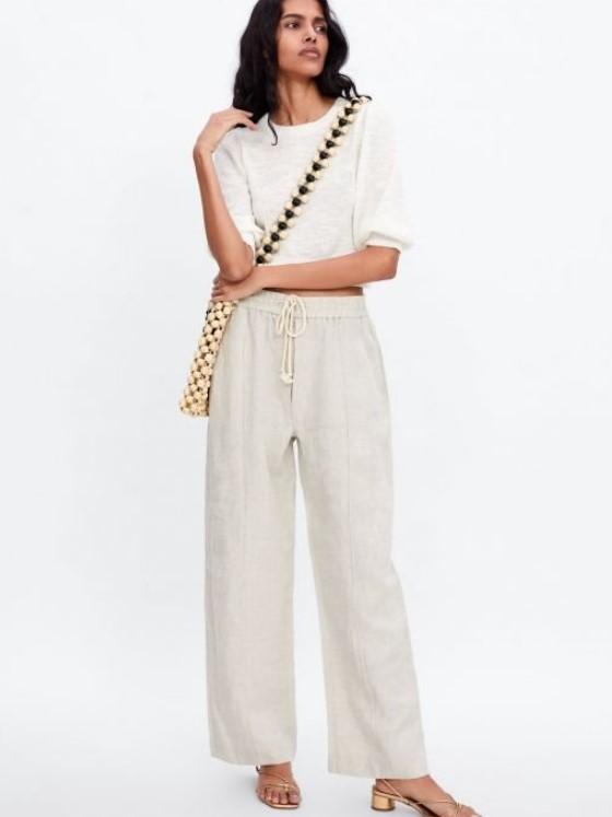 2019 Yaz Zara Keten Pantolon Modelleri